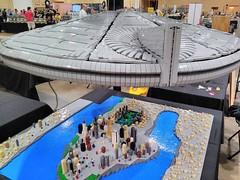 LEGO ID4 Independence Day Brickworld Chicago 2017 - setting up (aaron.fiskum) Tags: lego id4 indepenedence day space scifi science fiction city destroyer legoid4 legoindependenceday legofreaks bricks