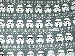 star wars wrapping paper 3 rolls pack by typo australia 2016 d stormtrooper print (tjparkside) Tags: typo star wars xmas christmas wrapping paper australia 3 rolls 9 metres logo stormtrooper snow flake chewbacca yoda jedi master lightsaber darth vader 2016 print printed