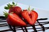 Strawberries (ciccioetneo) Tags: nikond7000 nikon105mmf28 fragola strawberry fragoladimaletto maletto catania sicilia sicily sagradellafragola closeup ciccioetneo sb800 nikonsb800 strobist strawberryexpo