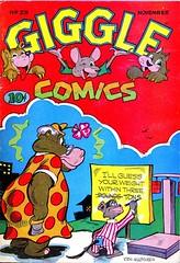 Giggle Comics 23 (Michael Vance1) Tags: art artist cartoonist adventure anthology comics comicbooks funny funnyanimals goldenage fantasy humor