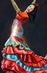 Flamenco Dancer (Pat McDonald) Tags: albaicin andalucía andalus argentina artrage bailaora bailaoras bailar bale ballerina ballet ballo flamenco españa digitalart danse dans dance castanet buenosaires bsas gibraltar gitana guapa guapísima guitarist mediterranean lalíneadelaconcepción spain sevilla retrato barcelona donnasommer