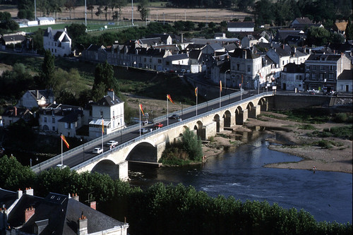 Pont Aliénor d'Aquitaine, Chinon  - La Vienne