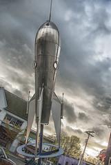 Bellingham Rocket (Steven Olmstead) Tags: publicart statue bellingham washington