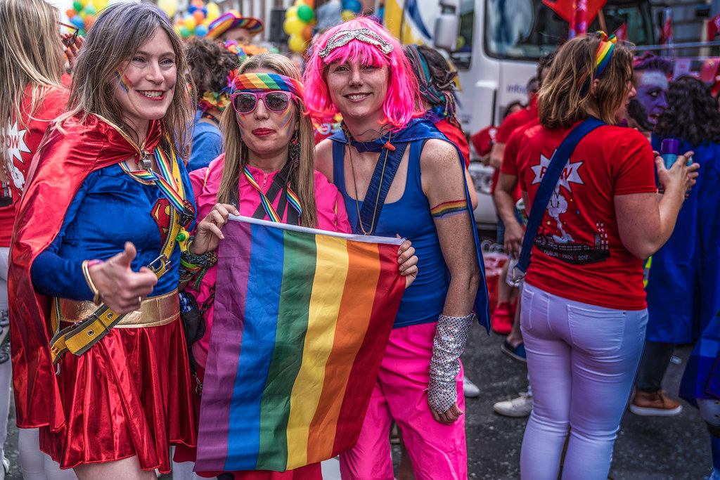 LGBTQ+ PRIDE PARADE 2017 [STEPHENS GREEN BEFORE THE ACTUAL PARADE]-129800