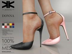 Donna :: Woman Shoes :: 10 Colors ({kokoia}) Tags: donna kokoia stilettos shoes heel shoe avatar sandals summer maitreya slink belleza tmp themeshproject eve high night woman secondlfie virtual 3d virtualworld