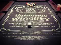 Old No. 7 (jkc photos) Tags: game label black logo table billiards pool bourbon oldno7 whiskey tennessee jackdaniels daniel jack