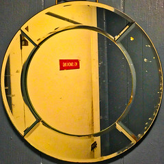 GNIKOMS ON (Timothy Valentine) Tags: squaredcircle 2017 0617 large reflection sign mirror wareham massachusetts unitedstates us