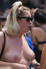 DUN_7833r (crobart) Tags: toronto pride dyke march pretty girls boobs tits breasts heavy hangers nude naked nipples