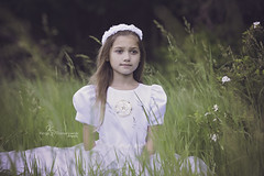 KRP_9375-Edit2 (Kinga Romanowski aKa Jaga Photo) Tags: first communion white dress outdoor children kids portraiture