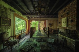 Living room of decay