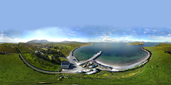 Ballinskelligs Spherical (rsthomas9) Tags: equirectangular ballinskelligs ireland spherical kerry skelligs skelligring ringofkerry coast sea seascape bay peir harbour watertville portmagee skellig