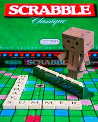 It is your turn ... (aureliemourlon) Tags: danbo scrabble nikon game