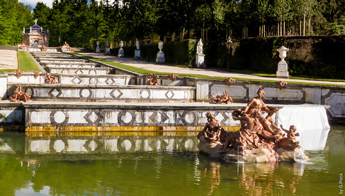 Flowing Fountains (San Ildefonso's Royal Palace's Gardens, Castille & Leon, Spain)