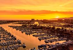 Marina del Rey (szeke) Tags: sunset california losangeles marinadelrey