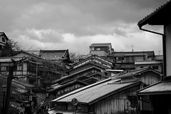 Old Kyoto Skyline