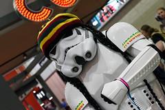 MCM London Comic Con (Sean Sweeney, UK) Tags: london mcm comiccon comic con excel 2017 star wars scifi stormtrooper empire high iso iso6400 6400 nikon dslr d810 rastertrooper raster