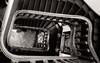grand escalier en bois (travelben) Tags: escalier art nouveau nb bw villa majorelle nancy lorraine france eu sauvage architecte stair minimal black white noir blanc stairs staircase collimasson architecture architect spiral spirale graphisme graphics wood bois