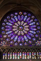 Rose bleue (Thierry Poupon) Tags: basilique saintdenis bleu cathédrale cercles radial rois rosace royale iledefrance france fr