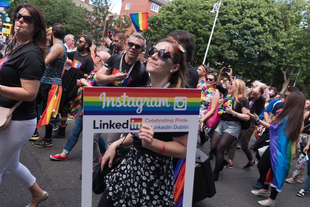 LGBTQ+ PRIDE PARADE 2017 [ON THE WAY FROM STEPHENS GREEN TO SMITHFIELD]-130082