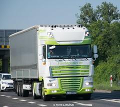 DAF XF 105 + Krone | TOP TIR | (scania090) Tags: trailer poland meet xf105 daf krone