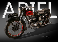 Ariel Square Four (david.horst.7) Tags: motorcycle ariel squarefour art poster