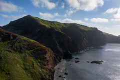 Cliffs (Rico the noob) Tags: dof landscape nature d500 outdoor madeira stones clouds published 1120mm ocean hills travel sea outlook 2017 sky water beach coast cliff 1120mmf28