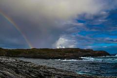 Golta rainbow (Morten T.) Tags: rain rainbow clouds cloud sea sealife seascape northsea nordsjøen norway norge canoneos80d canon canonphoto collors color northseaview vestlandet