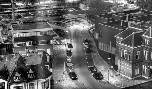 Streetview at night.
