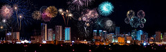 Downtown Miami and Fourth of July 2017. (Aglez the city guy ☺) Tags: fireworks fourthofjuly independenceday celebration nitephotografy miamifl city cityscapes colors outdoors