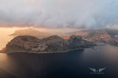 Approaching Palermo, Sicily (gc232) Tags: approachingpalermo sicily aerial low altitude drone view airplane jet passenger window sunrise sunset island beach