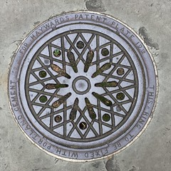 HAYWARDS COALPLATE WARWICK SQUARE PIMLICO (xxxxheyjoexxxx) Tags: coalplate coal plate iron shute vintage cover opercula plates coalplates lid lettering foundry london pimlico