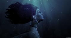 I am the storm . . . (Iris Okiddo) Tags: iris okiddo yana grau storm water stars sparkles shining strong powerful power hair night moonlight vangelis