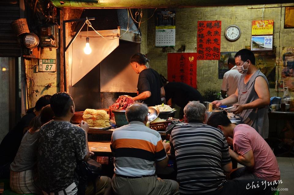 [台南]中西區阿江炒鱔魚意麵。回味台南的經典豐厚滋味