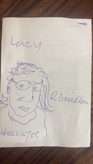 Grandads drawing of lucy (Elysia in Wonderland) Tags: grandad ron drawing lucy funny hilarious wetherspoons cartoon