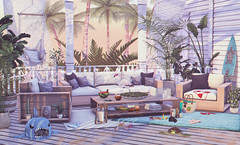 Vacation in progress (Violet.Inaka) Tags: fancydecor dad summerfest fameshed bigbully