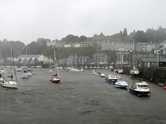 Porthmadog Harbour 2017 (Dave_Johnson) Tags: rain raining miserable britanniabridge porthmadogharbour harbour boat boats gwynedd porthmadog wales weather