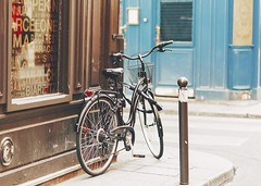 Have a great weekend! (ninasclicks) Tags: bicycle bike paris street travel travelphotography