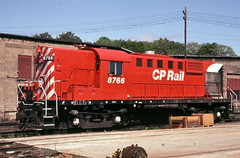 A Little Different (ac1756) Tags: cp cpr canadianpacific cprail mlw alco rs18 8766 saultstemarie ontario canada