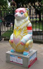 Poddington (ahisgett) Tags: birmingham children's hospital charity wild art big sleuth 2017 bearmingham
