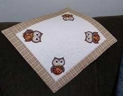 Toalha para fogão (fatimalt) Tags: fogão toalha mantaaccílica tecidoeforro100 corujinhas coruja patchaplique artesanatofatimalt