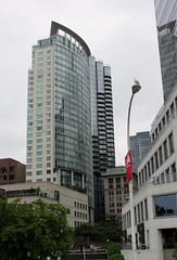 Downtown Vancouver, BC (Stabbur's Master) Tags: canada vancouver vancouverbc vancouverskyscraper skyscraper downtown downtownvancouver aubergevancouverhotel jamesonhouse canadaplace