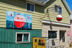Bobbers Up, Brothertown Wisconsin (Cragin Spring) Tags: wisconsin wi midwest unitedstates usa unitedstatesofamerica bobbersup building bar tavern pub sign bobber brothertown brothertownwi brothertownwisconsin