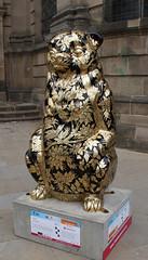 Goldie (ahisgett) Tags: birmingham children's hospital charity wild art big sleuth 2017 bearmingham bear
