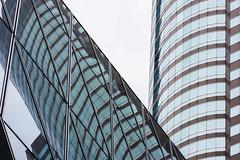 Lines I - Hongkong 20/188 (*Capture the Moment*) Tags: 2017 central exchangesquare hongkong hongkongisland reflection reflections reflexion sonynex7 zeissbatis1885