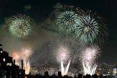 4th of July 2017 Macy's Fireworks-84 (Diacritical) Tags: brooklyn nycmacys nikond4 pattern 70200mmf28 30secatf71 july42017 85148pm f71 230mm 4thofjuly fireworks macysfireworks nyc night skyline