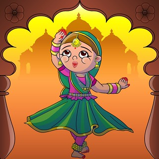 Kathak Dancer