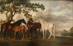 Mares and Foals in a River Landscape by George Stubbs (shadow_in_the_water) Tags: maresandfoalsinariverlandscape georgestubbs tate britain millbank pimlico london sw1 horses mares foals