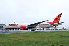 B777-2.VT-ALH-1 (Airliners) Tags: airindia 777 b777 b7772 b777200 boeing boeing777 boeing777200 inaugural inauguralflight iad vtalh 7717