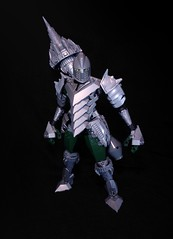 Spencer, the Drill Knight (Rеdverse) Tags: lego afol bionicle nexo knight silver drill spear kingdom