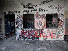 E-M1MarkII-13. Juli 2017-15-39-58 (spline_splinson) Tags: consonno graffiti graffitiart graffity italien italy lostplace losttown ruin ruinen ruins lombardia it